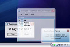 Desktop Timer - software developed by Jianway